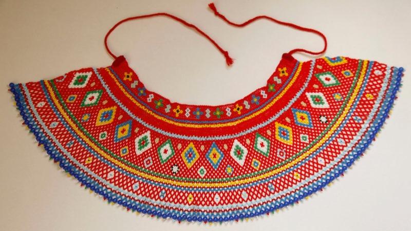 Традиційна лемківська жіноча прикраса