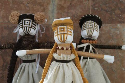 Лялька без обличчя  – немовля, берегиня, наречена