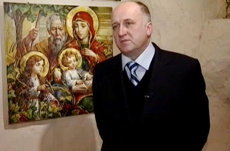 Українські ікони Олександра Охапкіна