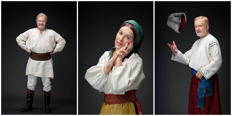 Польські знаменитості одягнули українські стародавні строї