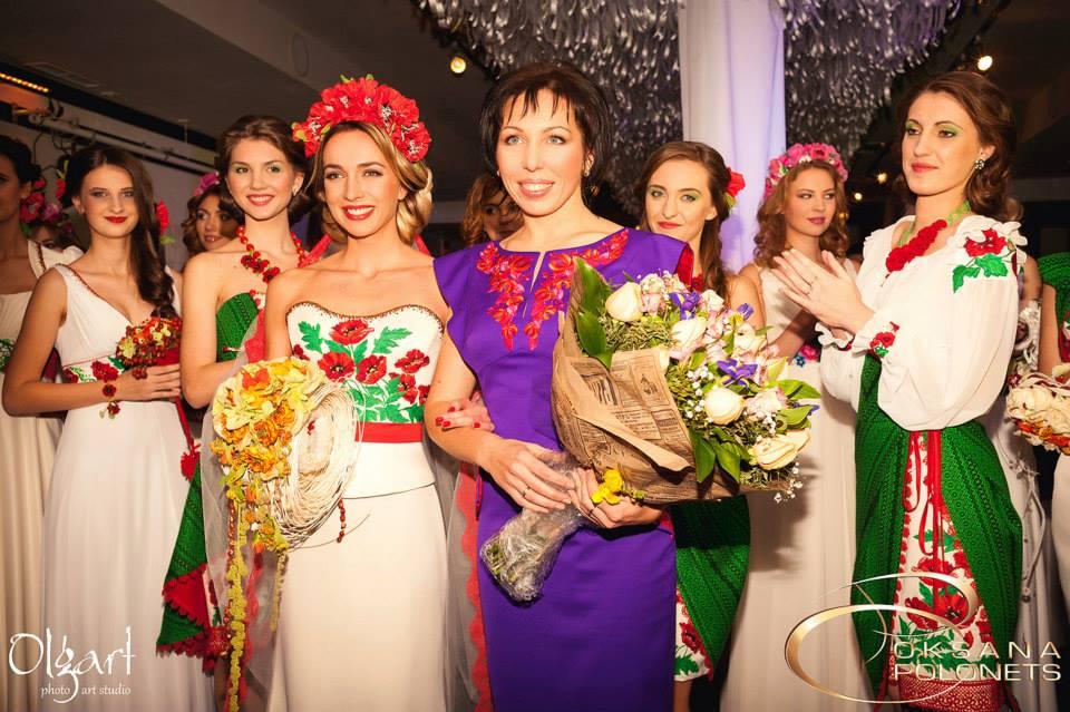 Оксана Полонець – краса у вишиванці увесь рік!