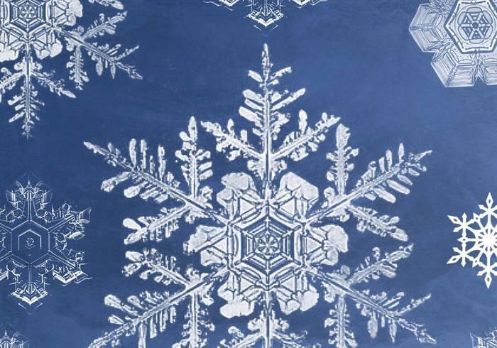 Сніжинки - небесні шедеври